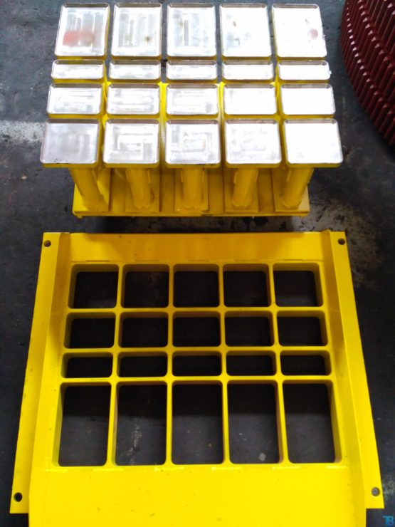 Прессформы, матрицы к вибропрессам нашего производства и других изготовителей